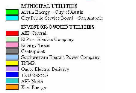 Electric Companies In Texas >> Texas